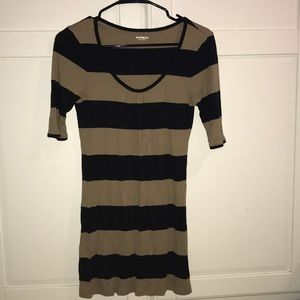 Express striped shirt! Size Large